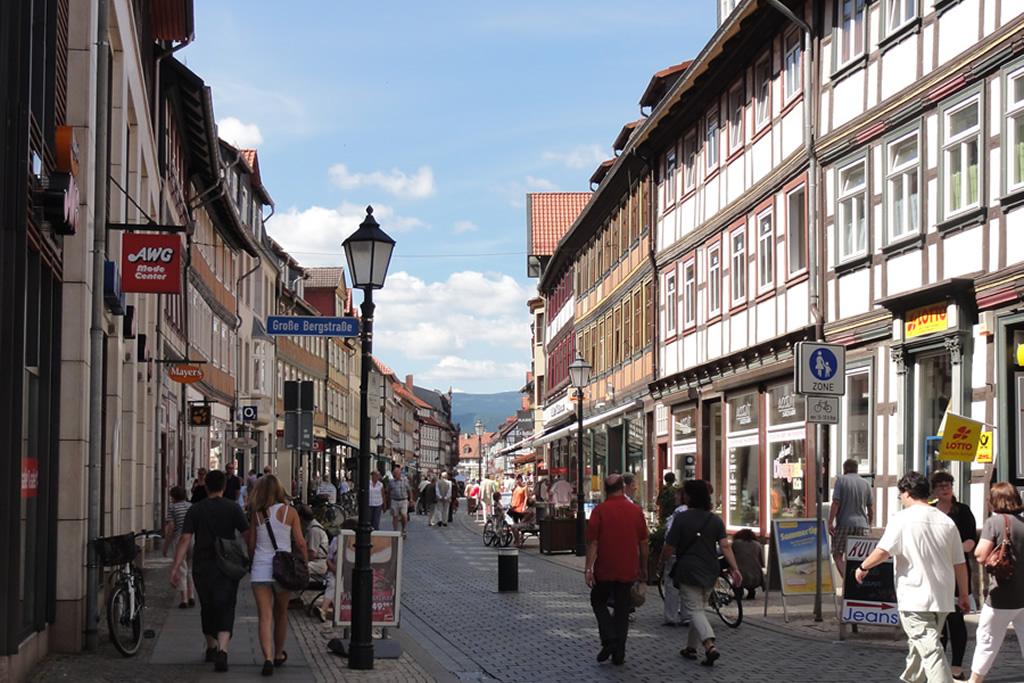 Wernigerode - Fußgängerzone